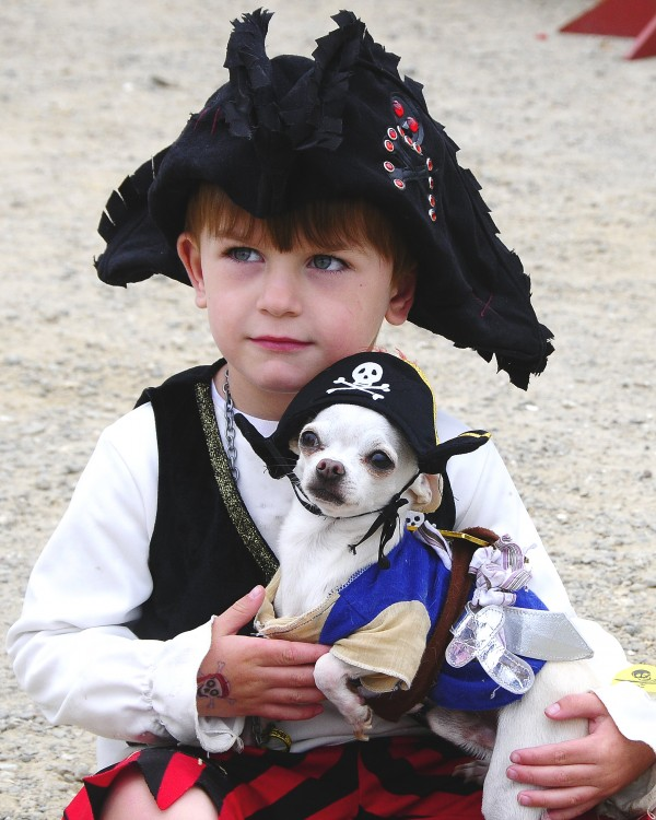 The Damariscotta River Pirate Rendezvous on June 22 is all about fun and fundraising, especially for children. The event draws hundreds of children (such as this ferocious pirate) and is the primary fundraiser for Lincoln County Family Holiday Wishes, a Christmas season food and gift drive that assisted over 500 children and their families in 2012. (Photo by Don Dunbar/easternmaineimages.com)