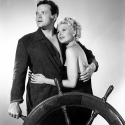 Orson Welles and Rita Hayworth star in THE LADY FROM SHANGHAI