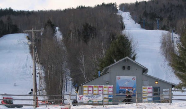 Black Mountain ski area in Rumford
