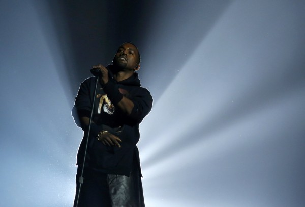Kanye West performs during the &quot12-12-12&quot benefit concert for victims of Superstorm Sandy at Madison Square Garden in New York December 12, 2012.