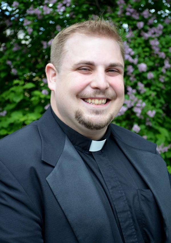 Seminarian Brad Morin
