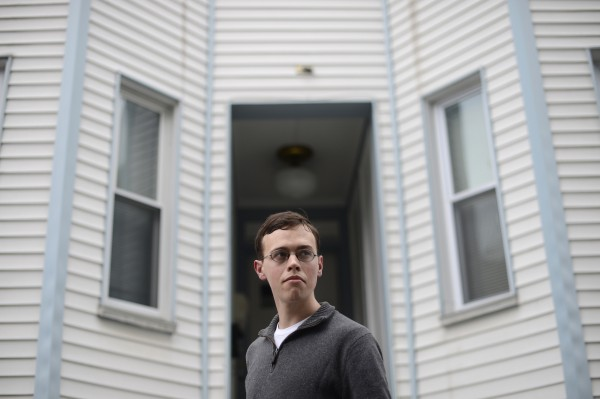 Jason Trigg, who works for a high-frequency trading firm, lives with three roommates in a Cambridge, Mass., apartment. By giving away half of a high finance salary, Trigg says, he can save many more lives than he could on an academic's salary.