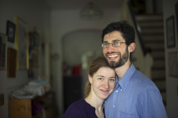 Jeff Kaufman and his wife, Julia Wise, of Cambridge, Mass., give away up to 45 percent of their income each year. Last year, the couple managed to live on $10,000.