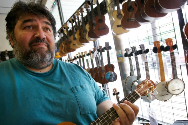 Tim Emery of Buckdancer's Choice Music Company in Portland said he sells about a ukulele a day and even more at Christmas time. He keeps about 300 in stock, with prices ranging from less than $50 to several hundred dollars.