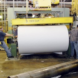 Lincoln paper mill nearly finished with conversion to liquefied natural gas