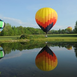 Conservation District Meet and Greet at the Piscataquis Heritage Hot Air Balloon Festival