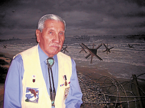 "Charles Shay of Old Town is a Penobscot Nation elder and a recipient of the French Legion of Honor. He has written about his Army service at D-Day in Normandy and at the Choisin Reservoir in North Korea in the new book, ""Project Omaha Beach: The Life and Military Service of a Penobscot Indian Elder."""