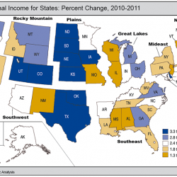 Maine personal income growth ranks 30th, purchasing power 36th since recession