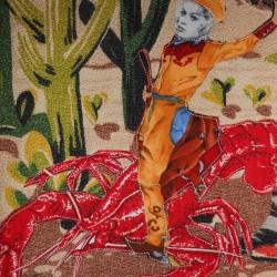 Bridget Bardot at the Lobster Rodeo (detail)