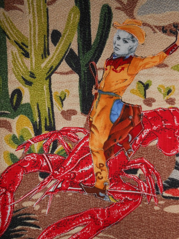 Bridget Bardot at the Lobster Rodeo (detail)
