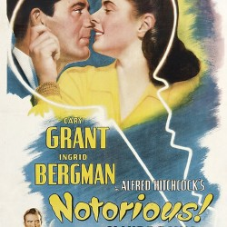 River City Cinema presents NOTORIOUS,  Friday, July 5th in Pickering Square, Downtown Bangor. FREE! Movie starts after sunset (around 8:30), bring your own seating.