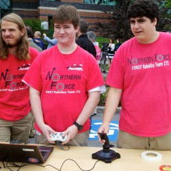Old Town robotics team finishes second at New England competition in Boston