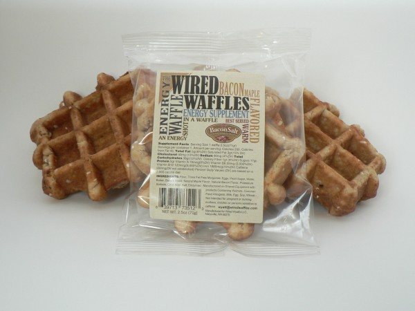 The Wired Waffles product has generated about $30,000 in sales since last fall, according to Wired Wyatt company founder Roger Sullivan.