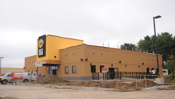 The building for the new Buffalo Wild Wings in Bangor.