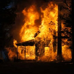 Fire destroys apartment building in Norway; teen charged with arson