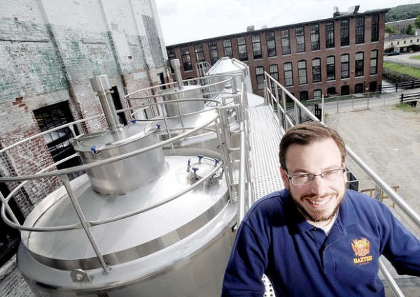 Luke Livingston, president and founder of Baxter Brewing Co., has nearly doubled his production of beer with the addition of three new 8,000-gallon fermentation tanks. Livingston said three more tanks will be installed this winter.