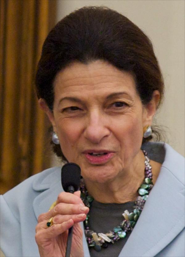 Former Senator Olympia Snowe