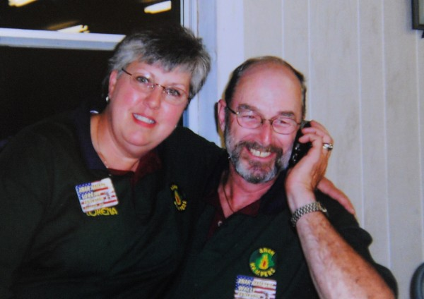 Wallace &quotWally&quot Fenlason with Lorena Fenelson, his wife of 44 years, in a 2004 photograph.
