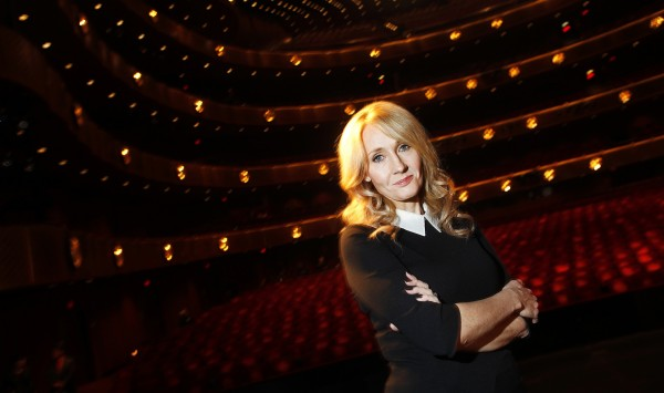 uthor J.K. Rowling poses for a portrait while publicizing her adult fiction book &quotThe Casual Vacancy&quot at Lincoln Center in New York October 16, 2012.