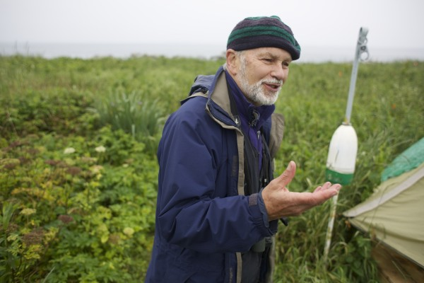 Steve Kress, the founder of Project Puffin, talks about the current status and ongoing research of puffins on Eastern Egg Rock in Muscongus Bay, about six miles east of Pemaquid Point in Maine.