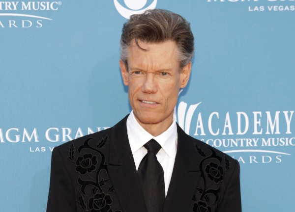 Singer Randy Travis arrives at the 45th annual Academy of Country Music Awards in Las Vegas, Nevada in this April 18, 2010 file photo.