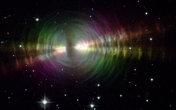 An image taken by the Hubble Space Telescope of the Egg Nebula, one of many images to be projected during Bay Chamber Concerts' premiere of the &quotHubble Cantata&quot July 25.