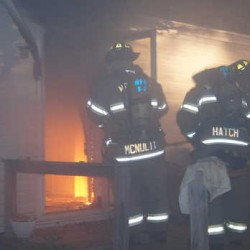 Maine firefighter treated after Norway fire destroys home
