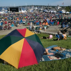 Blue skies break for rockin' blues fest