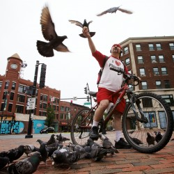 Portland's pigeon poet: 'It don't cost you nothing to be good to somebody'