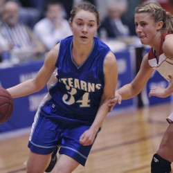 Player from Austrian national team helps Stearns' basketball tourney quest