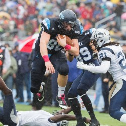 UMaine's James, Perillo named Football Championship Subdivision All-Americans