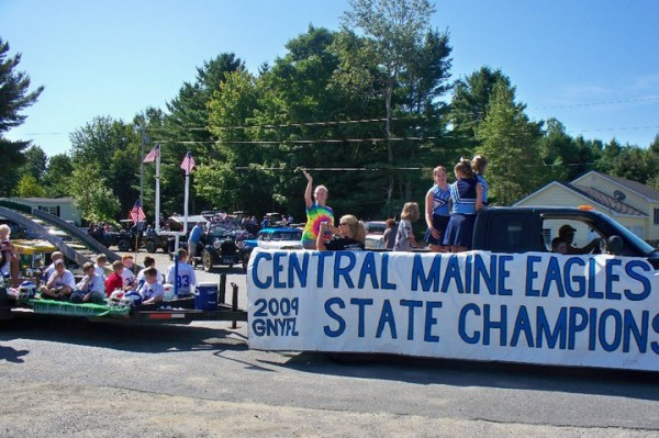 The Central Maine Eagles. Courtesy of Greater New England Youth Football League