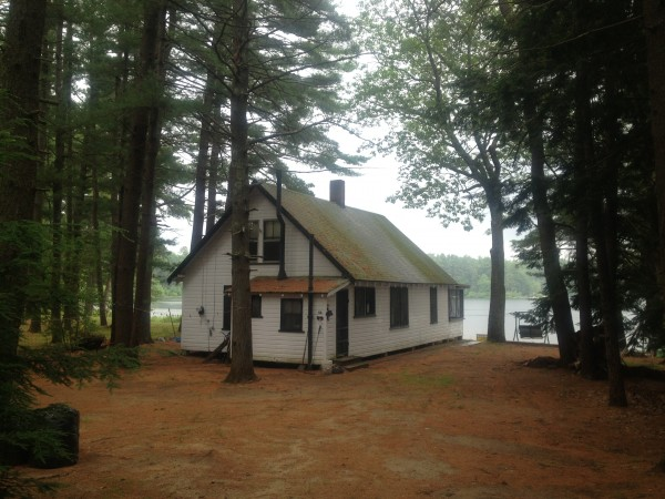 A cottage at Loon Pond in Acton awaits weekend visitors.