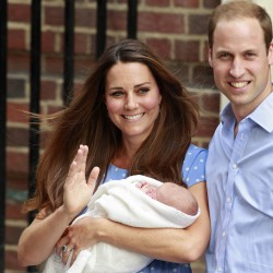 World awaits first glimpse of Britain's new prince