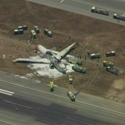 Emergency vehicle may have run over one of Asiana crash victims