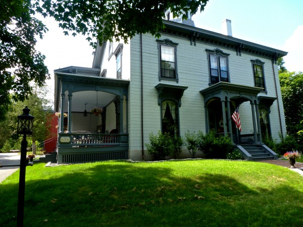 "The historic 1857 Joseph Low House in Bangor was purchased in 2010 by the Bourassa, which spent the following three years overseeing its restoration. Visitors will explore the house during the ""Top of Bangor Tour,"" a main event of Governor Baxter Day on July 24, in downtown Bangor."