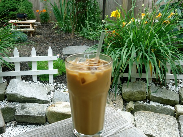 The Vietnamese iced coffee from Yordprom Coffee Co. in Portland is a sweet sip on a hot day. Made with Vietnamese coffee, condensed milk and a splash of half and half over ice.