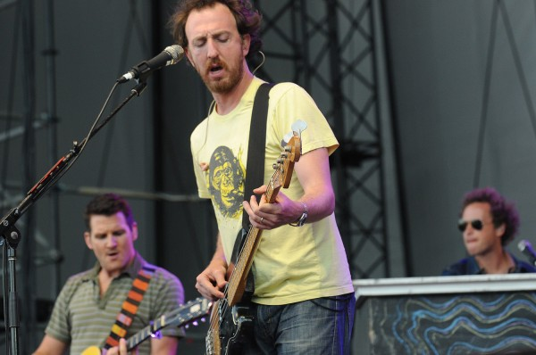 Guster performs at the Bangor Waterfront on Sunday evening.
