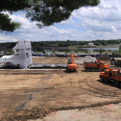 Bangor to put down stone at Waterfront Concerts venue after odor problems