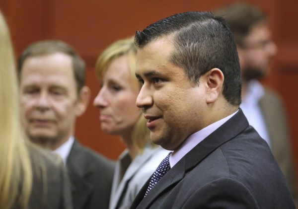 George Zimmerman leaves the courtroom a free man after being found not guilty in the 2012 shooting death of Trayvon Martin at the Seminole County Criminal Justice Center in Sanford, Florida, July 13, 2013. Police say that last week, Zimmerman helped rescue a family from an overturned vehicle.