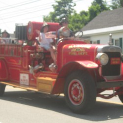 'Utter chaos' as man crushed by antique firetruck at Independence Day parade