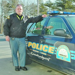 Kennebunkport police officer injured in motorcycle accident remains heavily sedated; few details available about crash