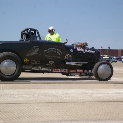 Bangor's Dave Sleeper joins 200 mph club at Loring's Land Speed Races