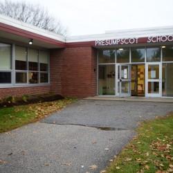 Presumpscot Elementary School in Portland.