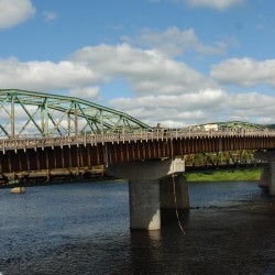 New international bridge at Fort Kent will be open in time for World Acadian Congress