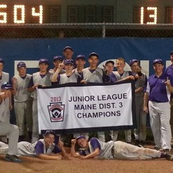 Bangor all-stars force final game against Bronco Little League in junior baseball tourney