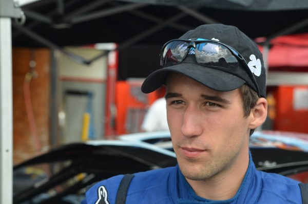 Austin Theriault of Fort Kent qualified 15th for the 40th annual TD Bank 250 at Oxford Plains Speedway on July 21, 2013.