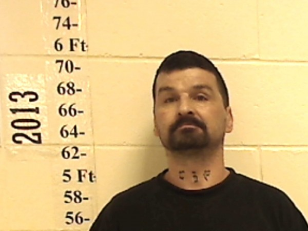 A mugshot of Ricky Cole. State police announced Friday afternoon that they believe Cole is the identity of the man discovered dead in a mobile home on Thursday.