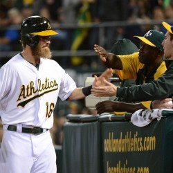 Donaldson's RBI single in 11th lifts A's by Red Sox
