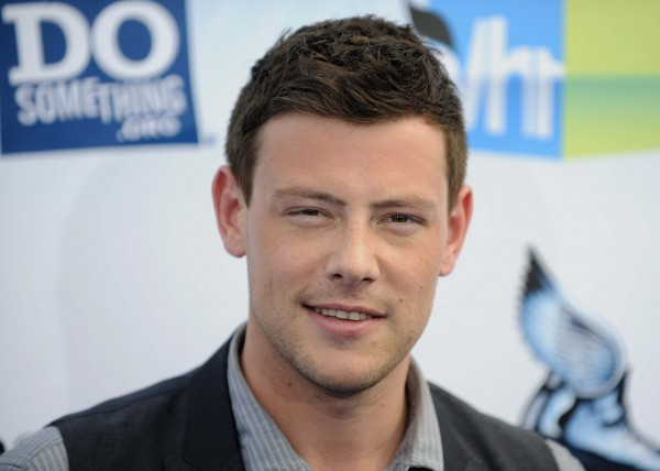 Cory Monteith in August.